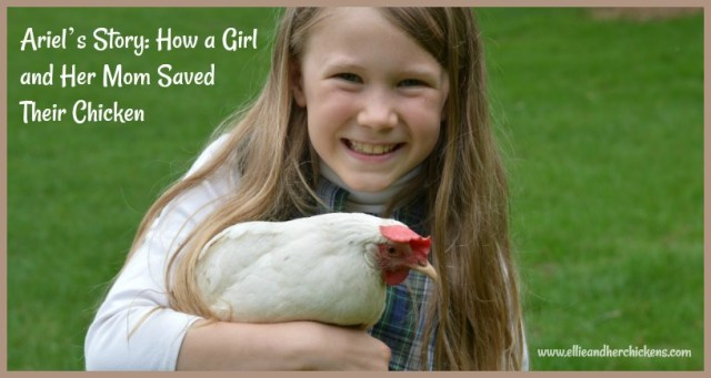 Ariel's story: How a Girl and Her Mom Saved Their Chicken | Ellie and Her Chickens