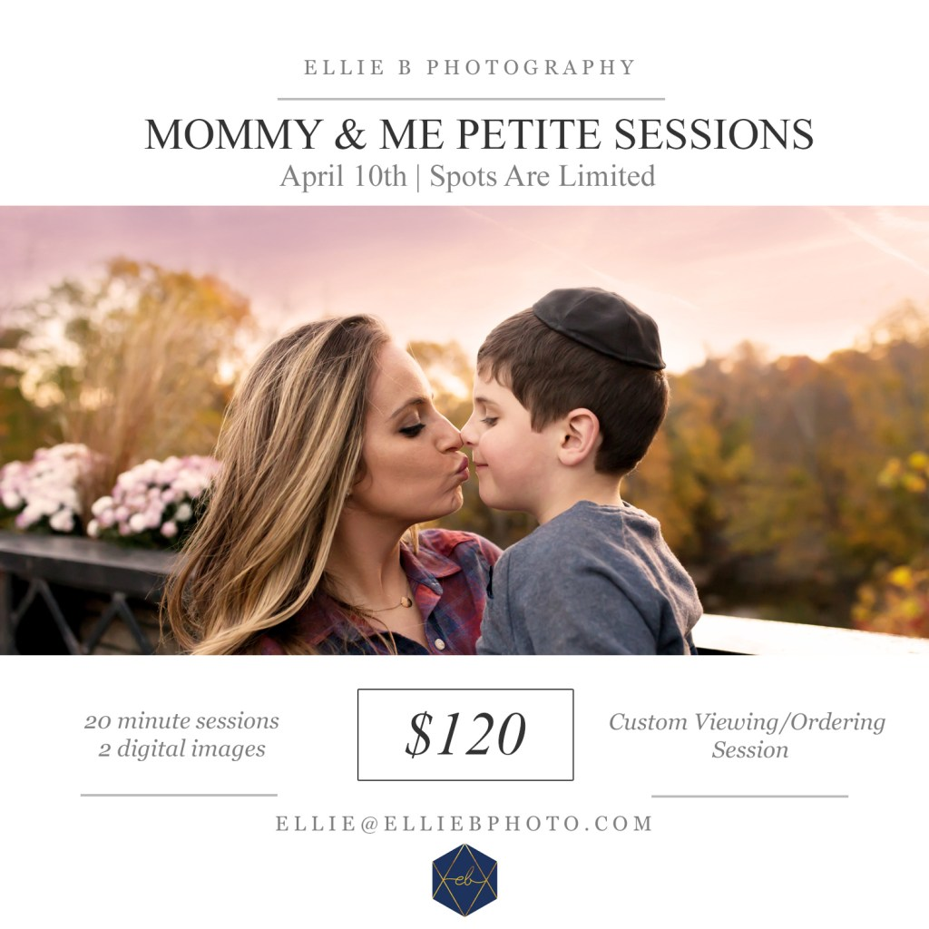 Beachwood Ohio Photographer – Mommy & Me Petite Sessions – Mother's Day Photography