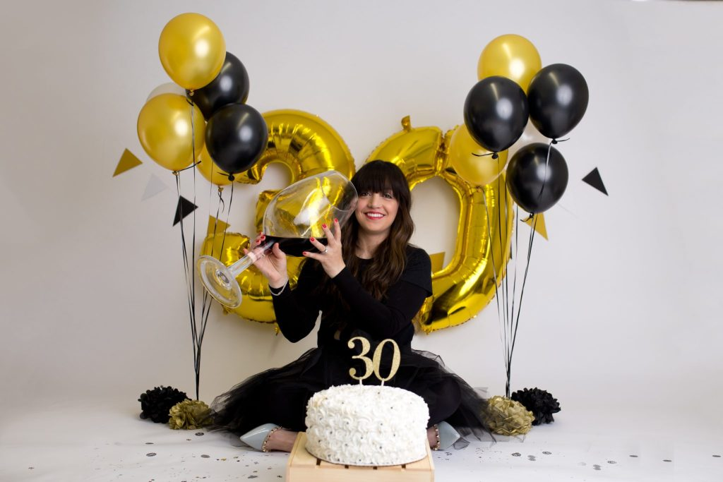 Phenomenal Rochelle F 30Th Birthday Celebration Cake Smash Cleveland Funny Birthday Cards Online Overcheapnameinfo
