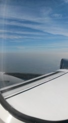 Nanjing haze from the plane...