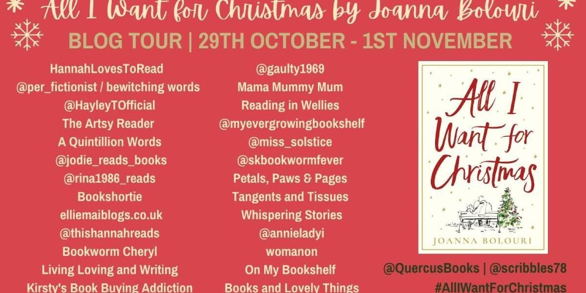 All I Want for Christmas by Joanna Bolouri | Blog Tour