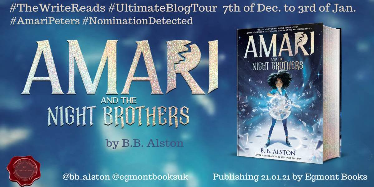 Amari and the Night Brothers | Blog Tour