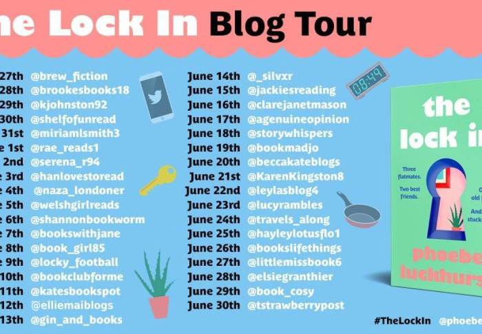 The Lock In by Phoebe Luckhurst | Book Review + Blog Tour