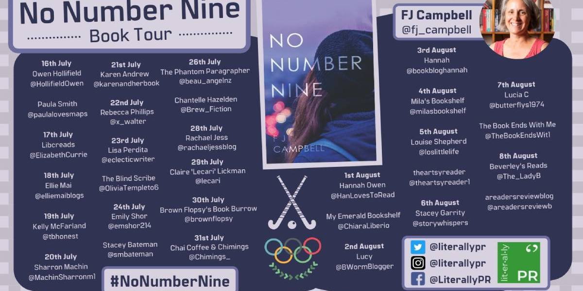 No Number Nine by FJ Campbell | Book Review + Book Tour