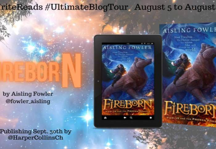 Fireborn by Aisling Fowler | Ultimate Blog Tour