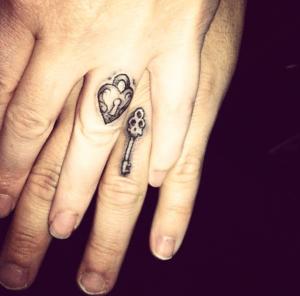 wedding ring tatoos BDSM