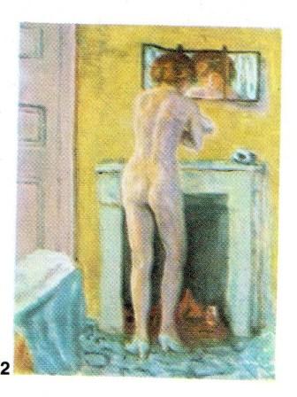 Prierre Bonnard (1867-1947): La Toilette. About 1922. Musee National d'Art Moderne, Paris. P260