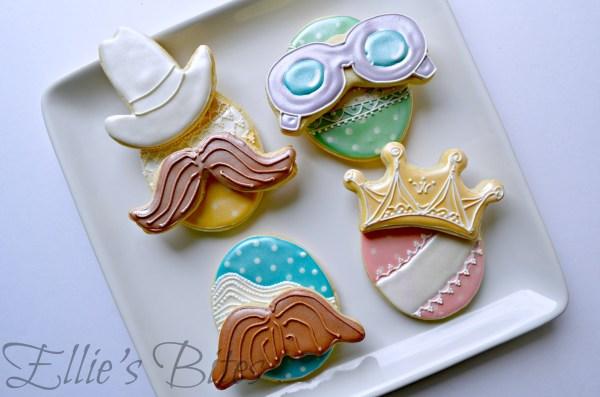 Hidden Easter Eggs | Ellie's Bites Decorated Cookies