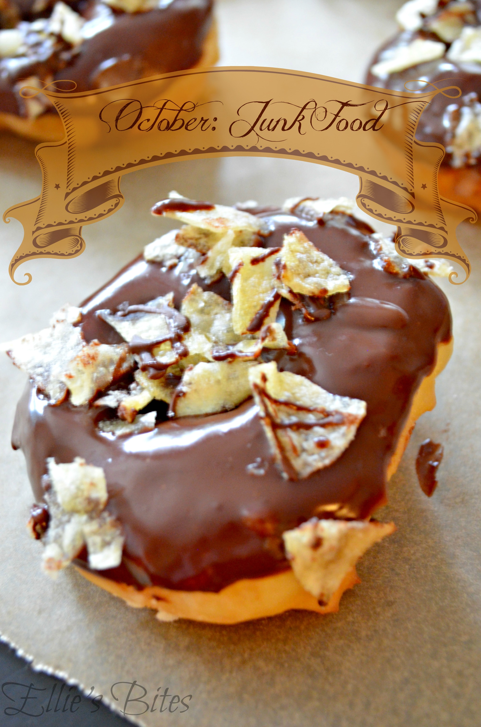 Inspiration Challenge October Junk Food Oh And A