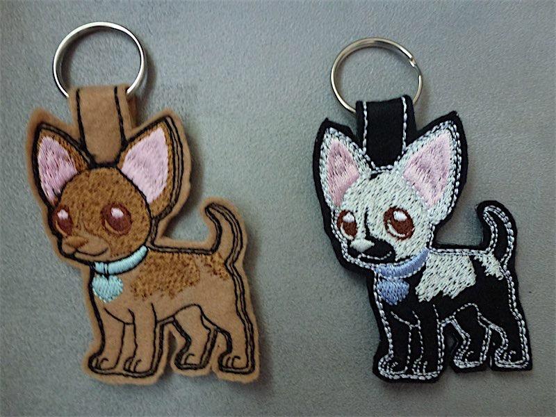 sleutelhanger hondjes