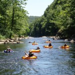 River Tubing in North GA