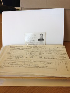 Military service file Library and Archives Canada