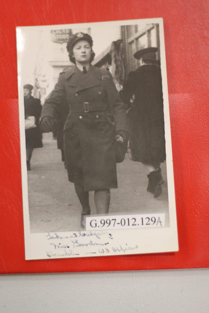 Jewish woman in uniform