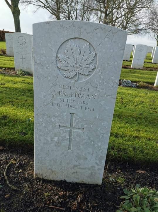 Jules Freedman grave