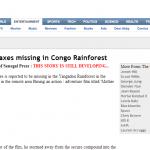 Έκτακτο!!!Χαθήκαμε στο Κονγκό…