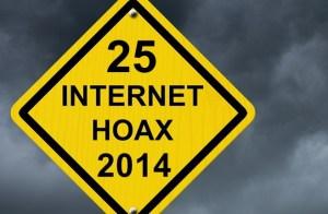 25 Internet-Hoax