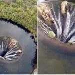Καταρρίπτεται – Γιγαντιαία Τρύπα 'Τρώει' Τον Φλοιό Της Γης.