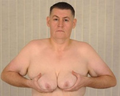 man-breast