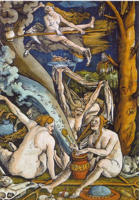 Χανς Μπάλντουνγκ Γκριν, Οι Μάγισσες, 1508