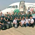Βίντεο των ποδοσφαιριστών της Τσαπεκοένσε που ΔΕΝ είναι μέσα από το μοιραίο αεροσκάφος