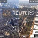 Ορκωμοσία Trump: Είχε «το μεγαλύτερο πλήθος που έχει ποτέ παρακολουθήσει ορκωμοσία»;
