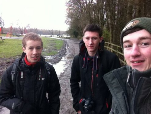 Never gonna forget this day with Luke Anderson and Tom Wright at Pennington Flash in Gtr Manchester...cold, wet and a couple of lifers for the newbies