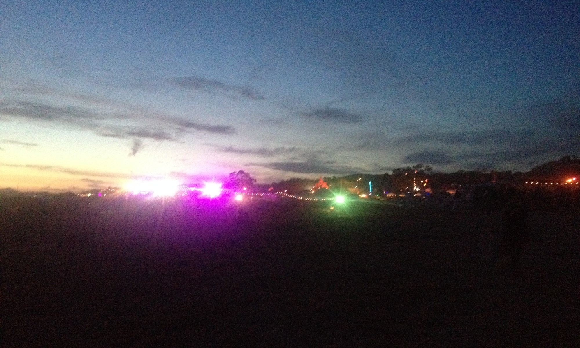 LiB2014 Light at first Sunset