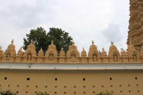 Mysore Palace Wall Statues
