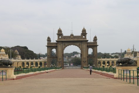 Mysore Palance Entrance