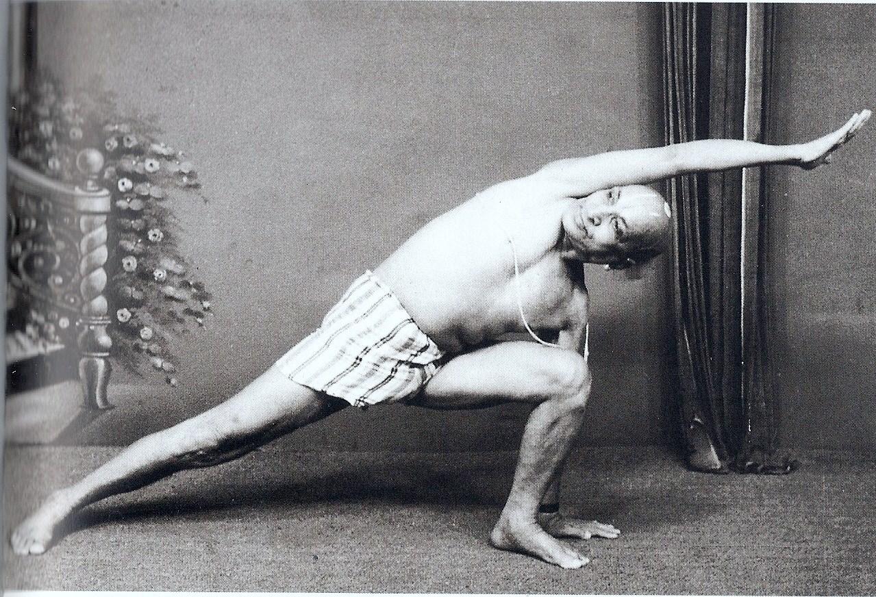 ashtanga yoga creator Krishnamacharya