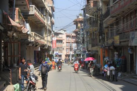 Kathamandu, Thamel Streets