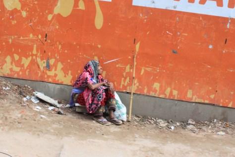 leper in Dhaka