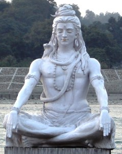 """Shiva meditating Rishikesh"" by Iqbal Mohammed - http://www.flickr.com/photos/blaiq/75116239/. Licensed under CC BY-SA 2.0 via Wikimedia Commons - https://commons.wikimedia.org/wiki/File:Shiva_meditating_Rishikesh.jpg#/media/File:Shiva_meditating_Rishikesh.jpg"