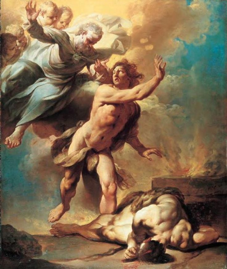 The Idea of Evil Giovanni Domenico Ferretti, Cain and Abel, 1740