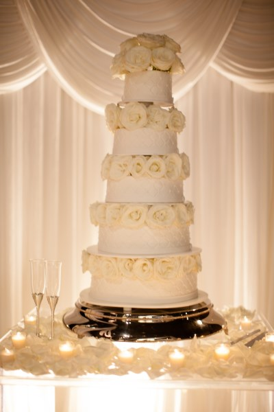wedding cake, flowers, white