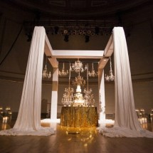 cake decor, white gold cake