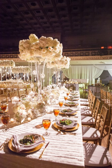 unique centerpieces, nashville wedding