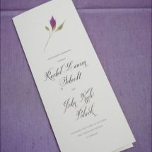 jewish wedding program