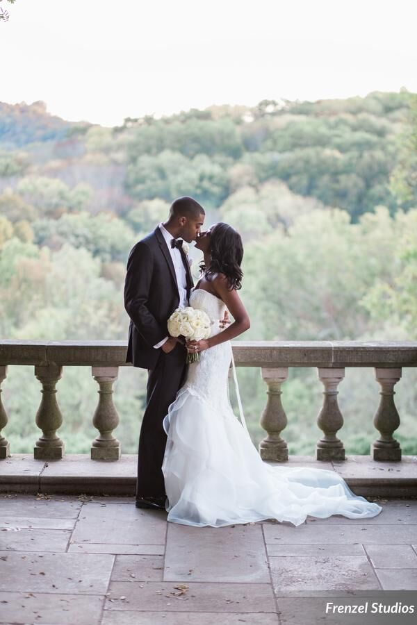 just married, cheekwood wedding, portriats