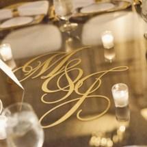 glass wedding tables, nashville wedding planner