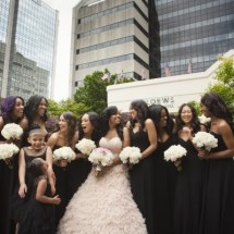 bridal party, bridesmaids,