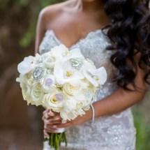 brides bouquet, bling, white brides bouquet