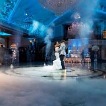 first dance, fog