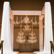 chandelier, altar, ceremony