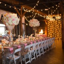 centerpieces, dance floor