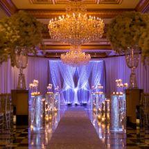 ceremony, new jersey, nfl wedding, ceremony decor