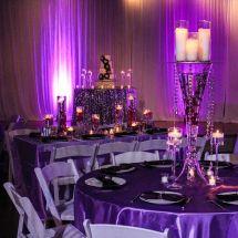 centerpiece, candles, unique decor