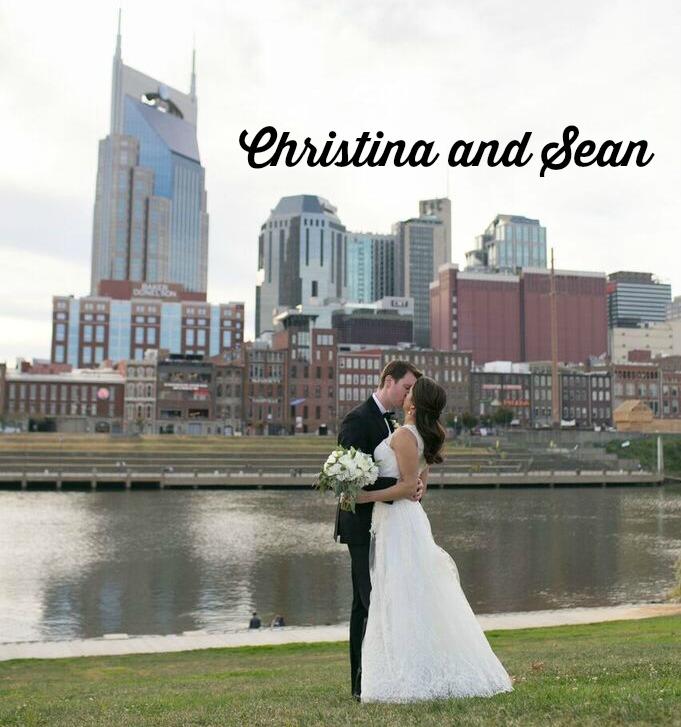 nashville couple, wedding, newlyweds
