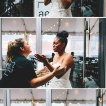 bride reaction, wedding planner