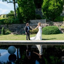 wedding at cheekwood, nashville bride and groom